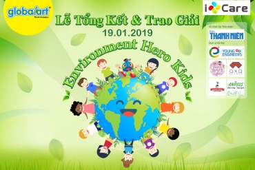 THE AWARD CEREMONY OF ENVIRONMENT HERO KID AND ART WORKSHOP